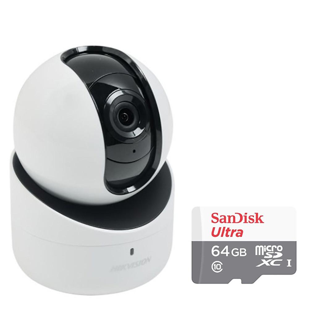 Review Camera IP Hồng Ngoại Không Dây DS-2CV2Q01EFD-IW Hikvision 1.0MP - Tặng Kèm Tai Nghe Bluetooth + Thẻ Nhớ 32GB - Hàng Chính Hãng