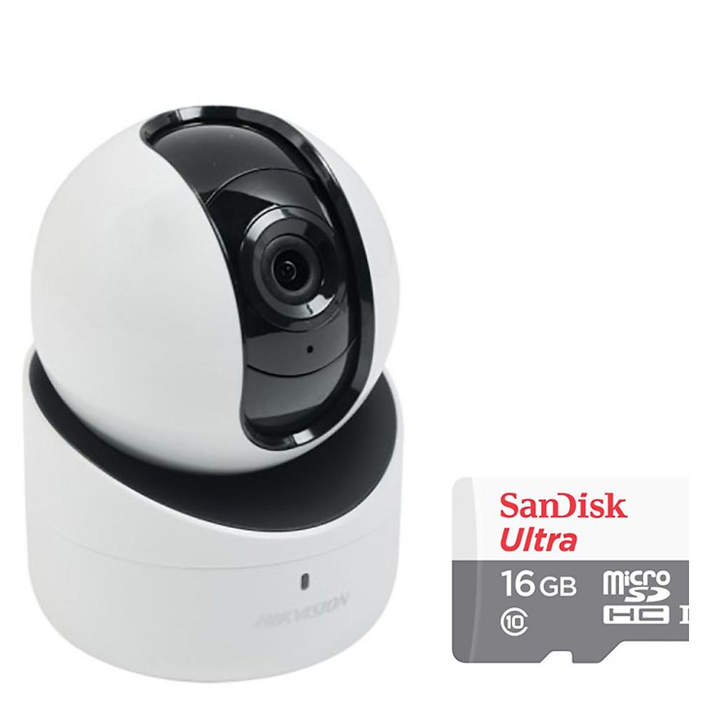 Review Camera IP Wifi Xoay 4 Chiều Hikvision DS-2CV2Q21FD-IW 2.0MP Và Thẻ Nhớ 32GB - Tặng Kèm Tai Nghe Bluetooth - Hàng chính hãng