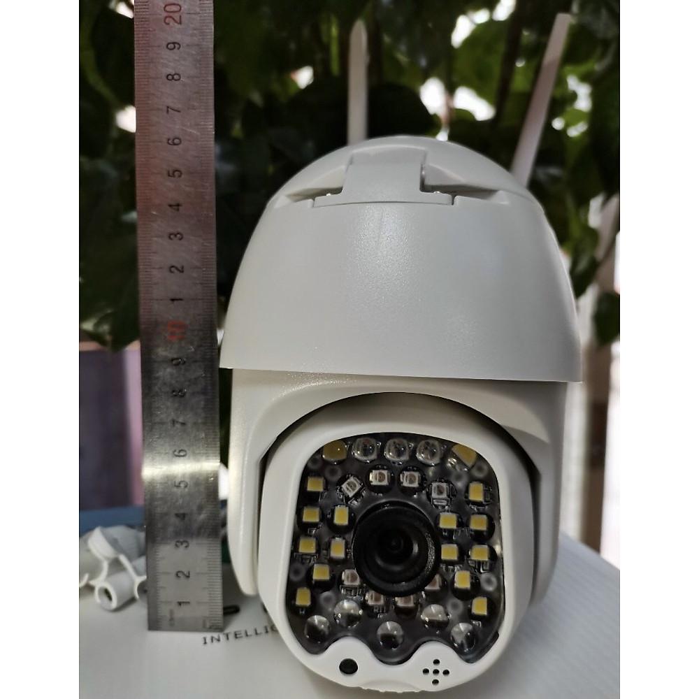Review Camera Ip Wifi Yoosee PTZ X4000 48 LED 1080P , Xem đêm có màu , đàm thoại 2 chiều , Cảnh báo đột nhập , Camera ngoài trời chống nước IP66 - Hàng Chính Hãng
