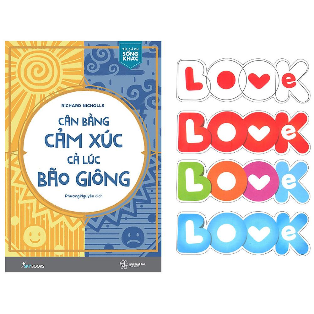 Đánh giá Cân Bằng Cảm Xúc, Cả Lúc Bão Giông (Tặng Kèm Bộ Bookmark TiKi Love Books)