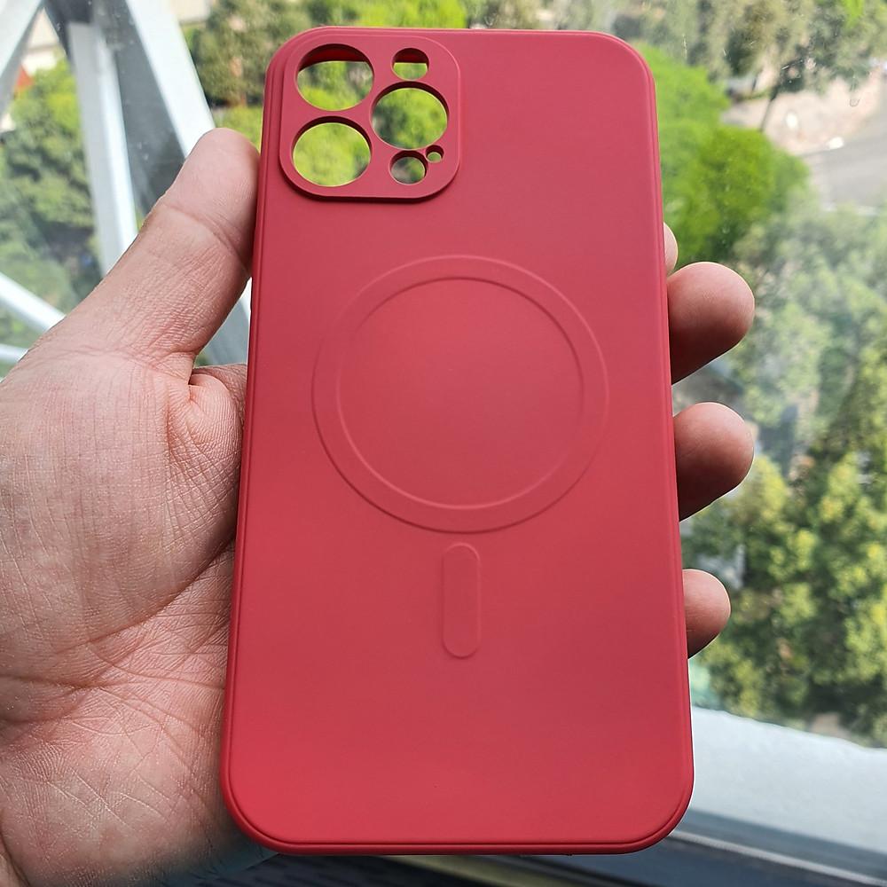 Đánh giá Case Ốp Lưng Dành Cho Iphone 12 Pro Max - Ốp Lưng Silicon, Hổ Trợ Sạc Không Dây, Mặt Trong Được Làm Bằng Nhung - Nhiều Màu (Đen, Xanh Dương, Đỏ, Kem, Xanh Lá, Hồng Đỏ)