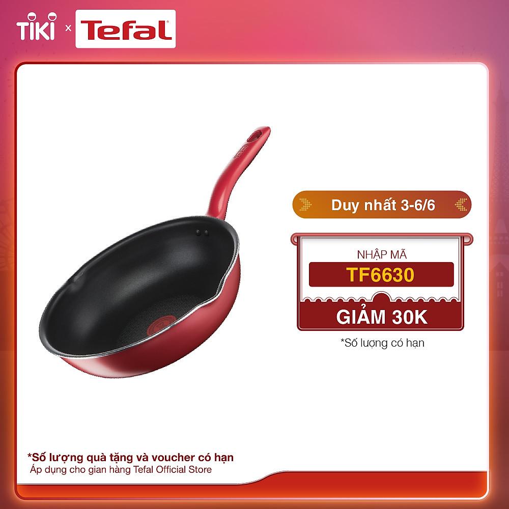 So Sánh Giá Chảo Tefal Lòng Sâu Chống Dính - So Chef G1358695 - Hàng Chính Hãng