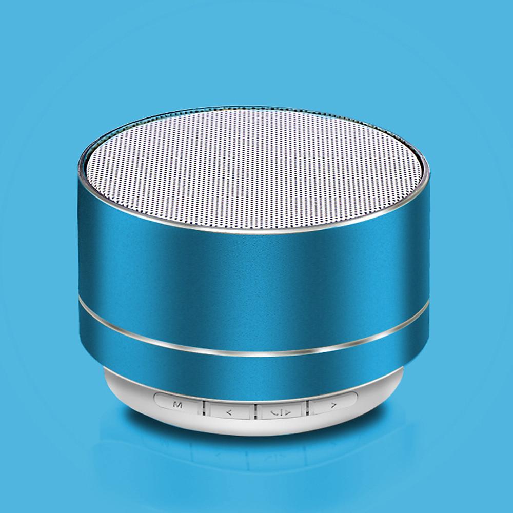 Đánh giá Chiếc Loa Bluetooth Mini A10 Vỏ Nhôm Di Động Sang Chảnh Âm Thanh To Đùng Tích Hợp Pin