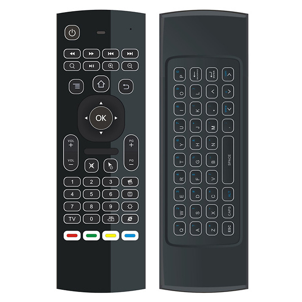 Đánh giá Chuột bay HNMX3L có đèn bàn phím, điều khiển thông minh