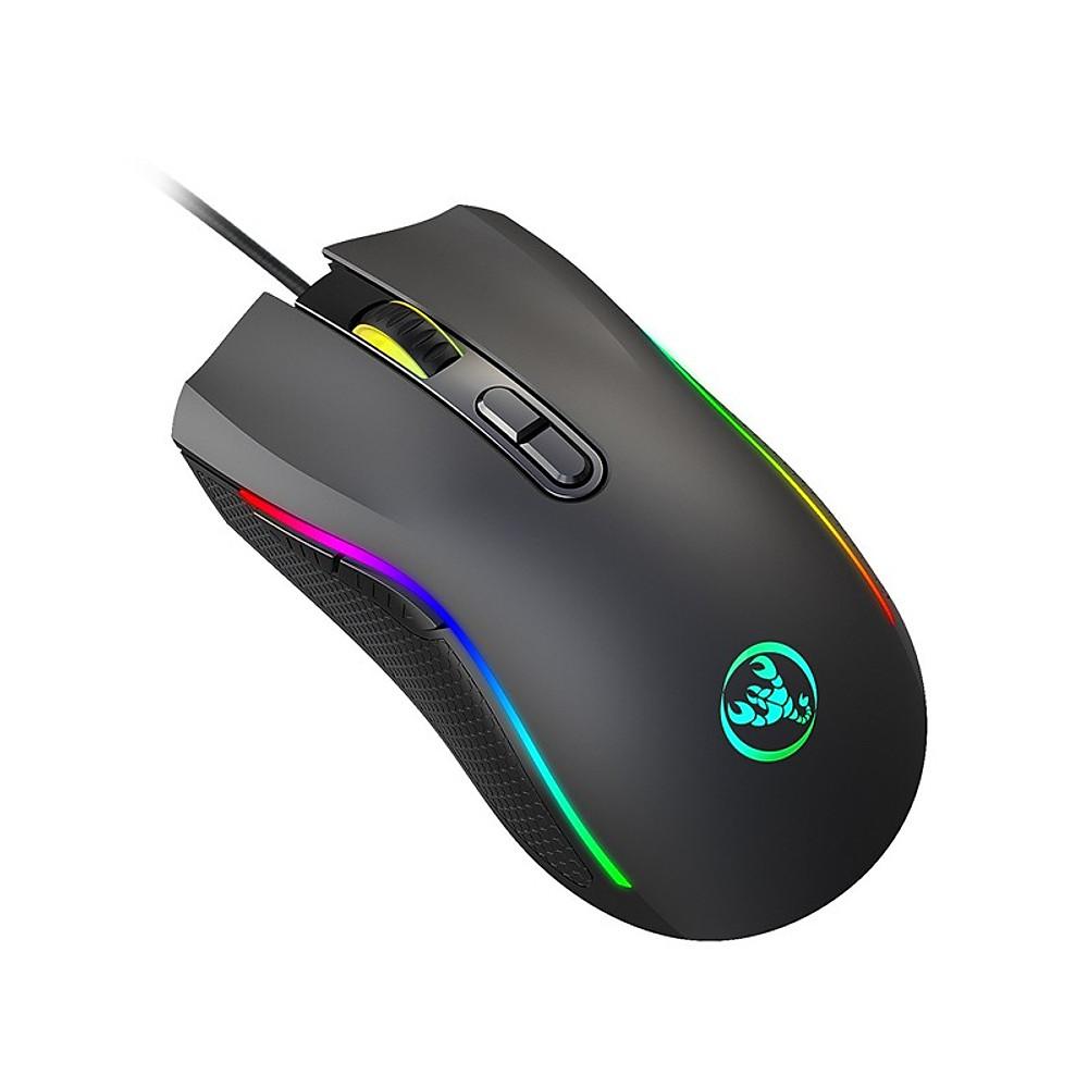 Đánh giá Chuột LED RGB 7200 DPI Gaming Mouse A869 cho máy tính