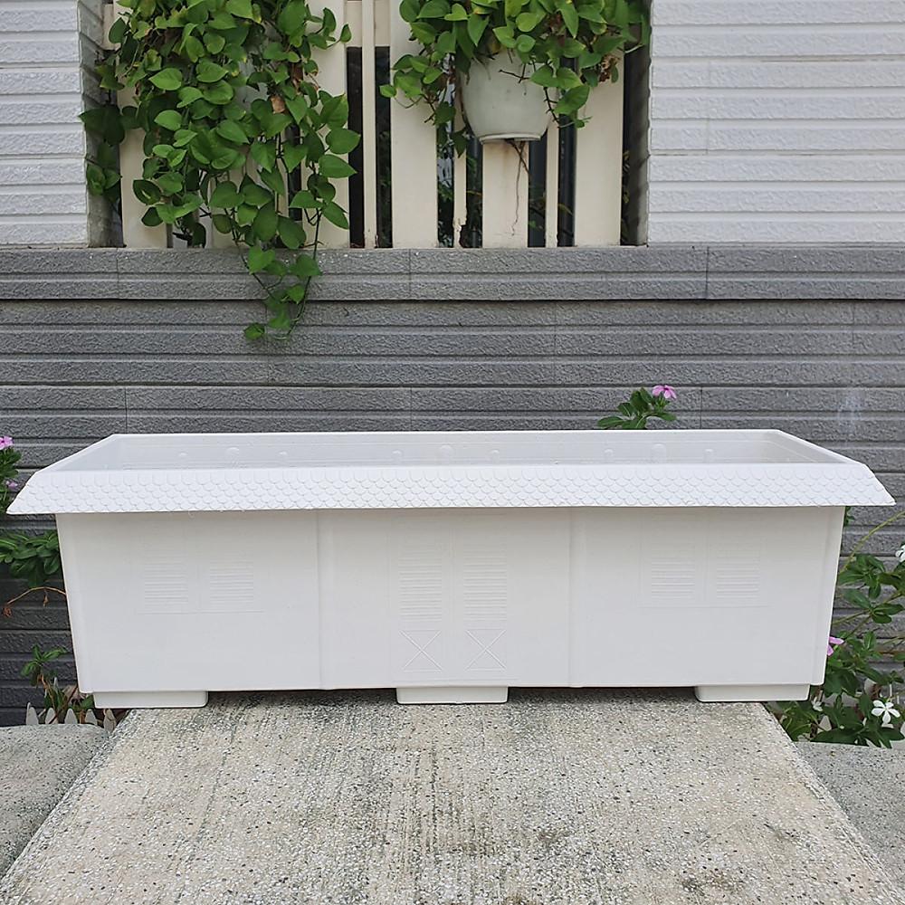 Đánh giá Combo 05 chậu dài kiểu mái ngói nhựa dày trồng rau, hoa size 62cm x 23cm x 19cm