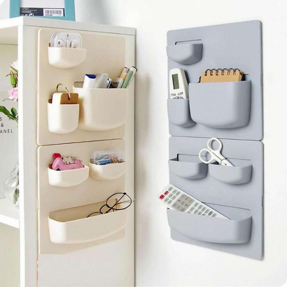 Đánh giá Combo 2 Kệ dán tường, dán tủ lạnh tiện dụng