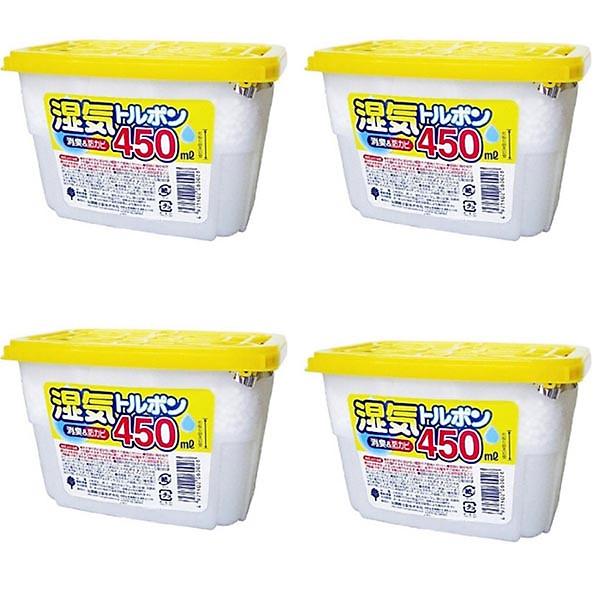 So Sánh Giá Combo 4 Hộp Hút ẩm 450ml Nội địa Nhật Bản
