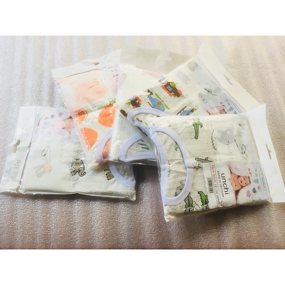 Đánh giá Combo 5 Bộ Quần Áo Trẻ Sơ Sinh Cao Cấp Sợi Cotton Fiber Bamboo Dành Cho Bé 12-14 Tháng Tuổi ( Màu Ngẫu Nhiên )