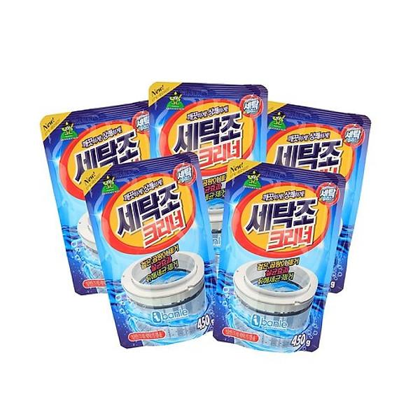 So Sánh Giá Combo 5 Gói Bột Tẩy Vệ Sinh Lồng Máy Giặt 450g Hàn Quốc Cao Cấp