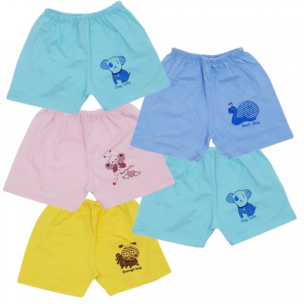 Review Combo 5 quần đùi màu sơ sinh cotton Thái Hà Thịnh, chất vải 100% cotton mềm, mịn, thoáng mát, hàng Việt Nam chất lượng, hàng chính hãng
