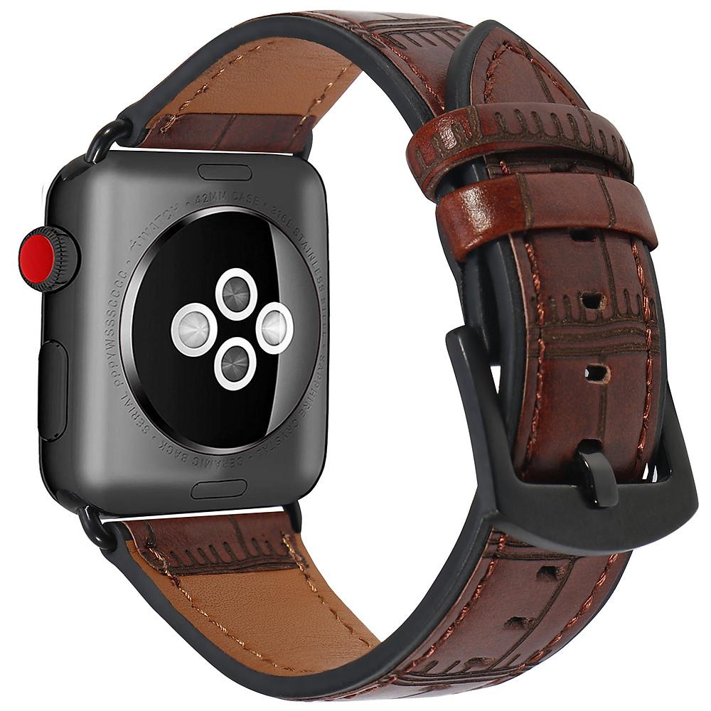 Đánh giá Dây Da Vân Tre cho Apple Watch Size 38mm
