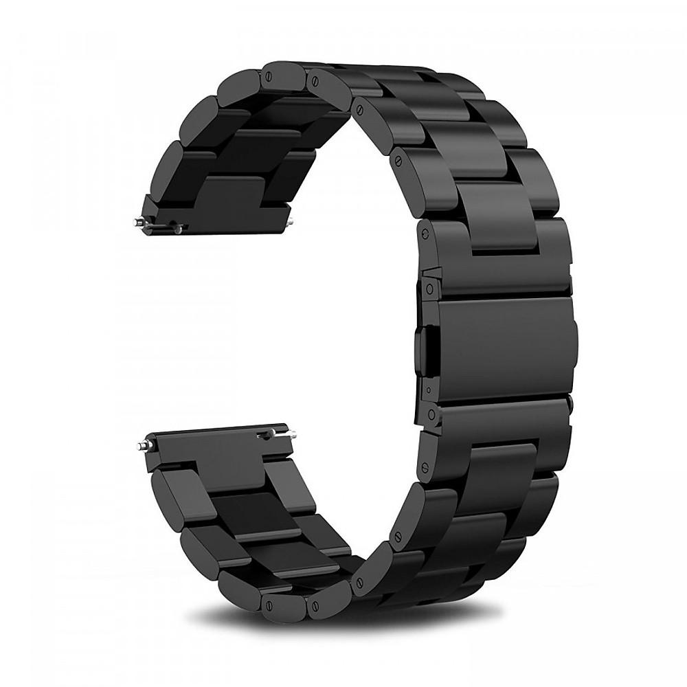 Đánh giá Dây đồng hồ 20mm 3 mắt thép không gỉ dành cho đồng hồ Samsung cho đồng hồ Samsung Galaxy Watch Active 2, Active, Galaxy Watch 42mm