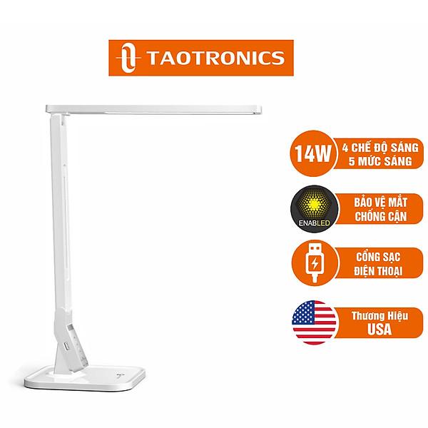 So Sánh Giá Đèn LED Chống Cận TaoTronics TT-DL02, 4 Chế độ Sáng, 5 Mức Sáng, Hẹn Giờ - Hàng Chính Hãng