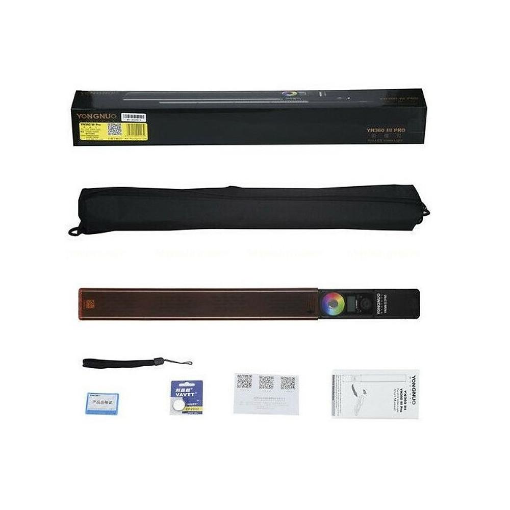 So Sánh Giá Đèn LED Quay Phim Yongnuo YN360 III Pro Kèm Pin F770 Kèm Sạc Hàng Chính Hãng.