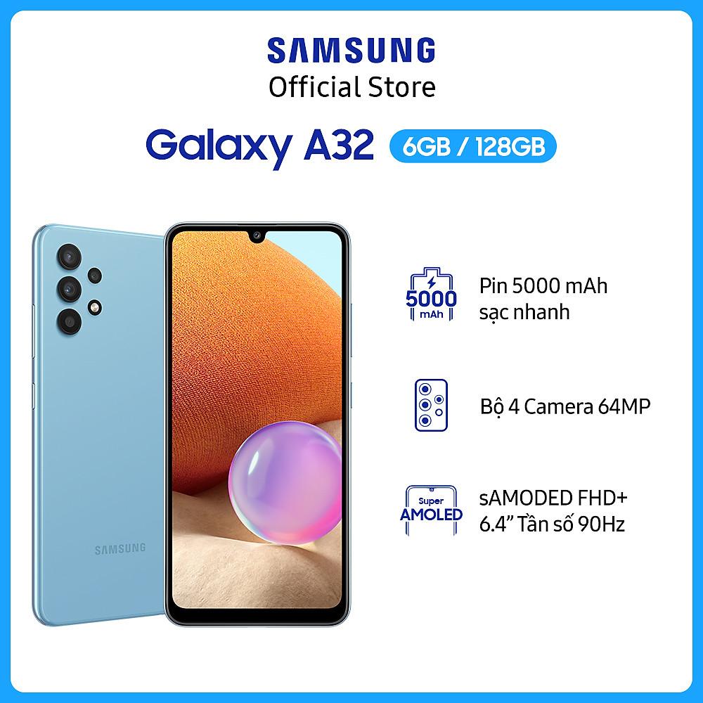 Review Điện thoại Samsung Galaxy A32-Hàng Chính Hãng