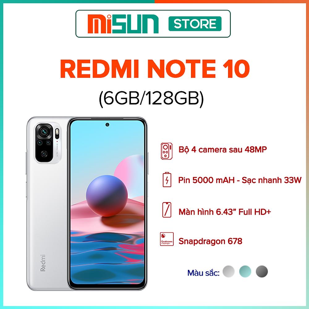 Review Điện Thoại Xiaomi Redmi Note 10 (6GB