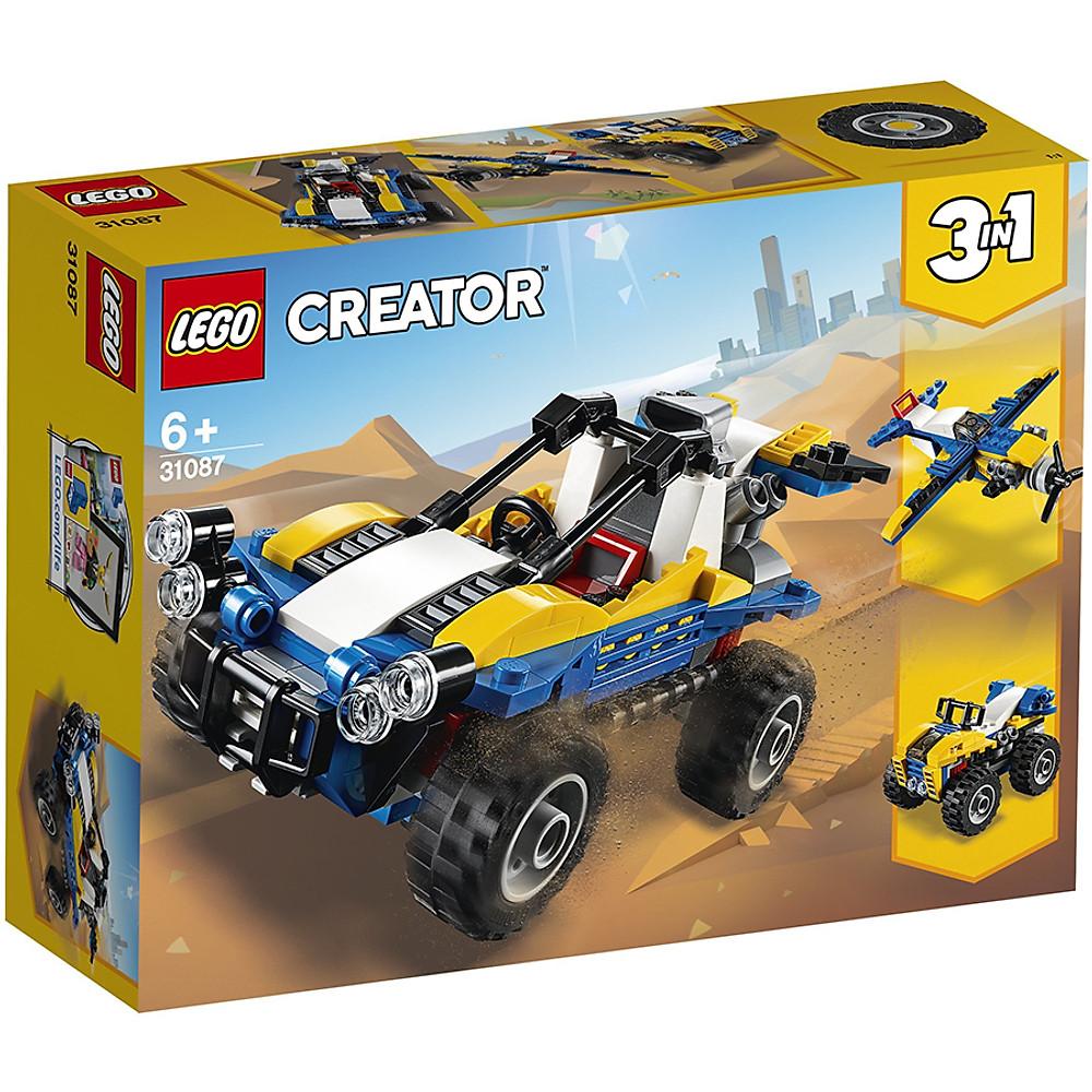 Review Đồ Chơi Lắp Ghép Xe Vượt Địa Hình Lego Creator 31087