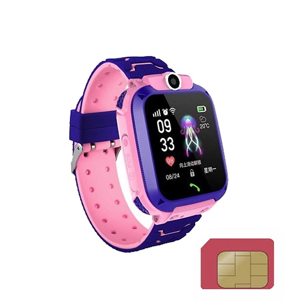 Đánh giá Đồng hồ dùng sim Viettel cho trẻ em tặng sim 4G viettel một ngày có 4G DATA