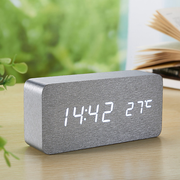 So Sánh Giá Đồng Hồ Gỗ LED ZAYTEN để Bàn Hình Chữ Nhật độc đáo, Tiện Dụng đo Thời Gian, Nhiệt độ Phòng - Tặng Pin.