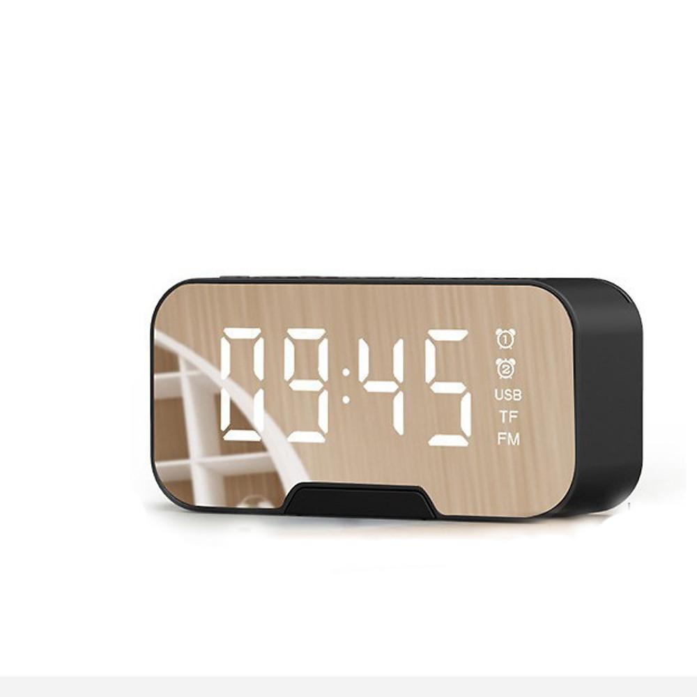 Đánh giá Đồng Hồ Kiêm Loa Bluetooth G10 Mặt Gương Hiển Thị Đèn Led (Có giá đỡ điện thoại)