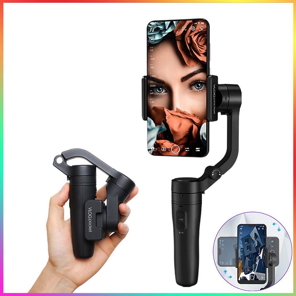 Review Feiyu Vlog Pocket- Tay cầm chống rung cho điện thoại nhỏ gọn nhất - Chính hãng