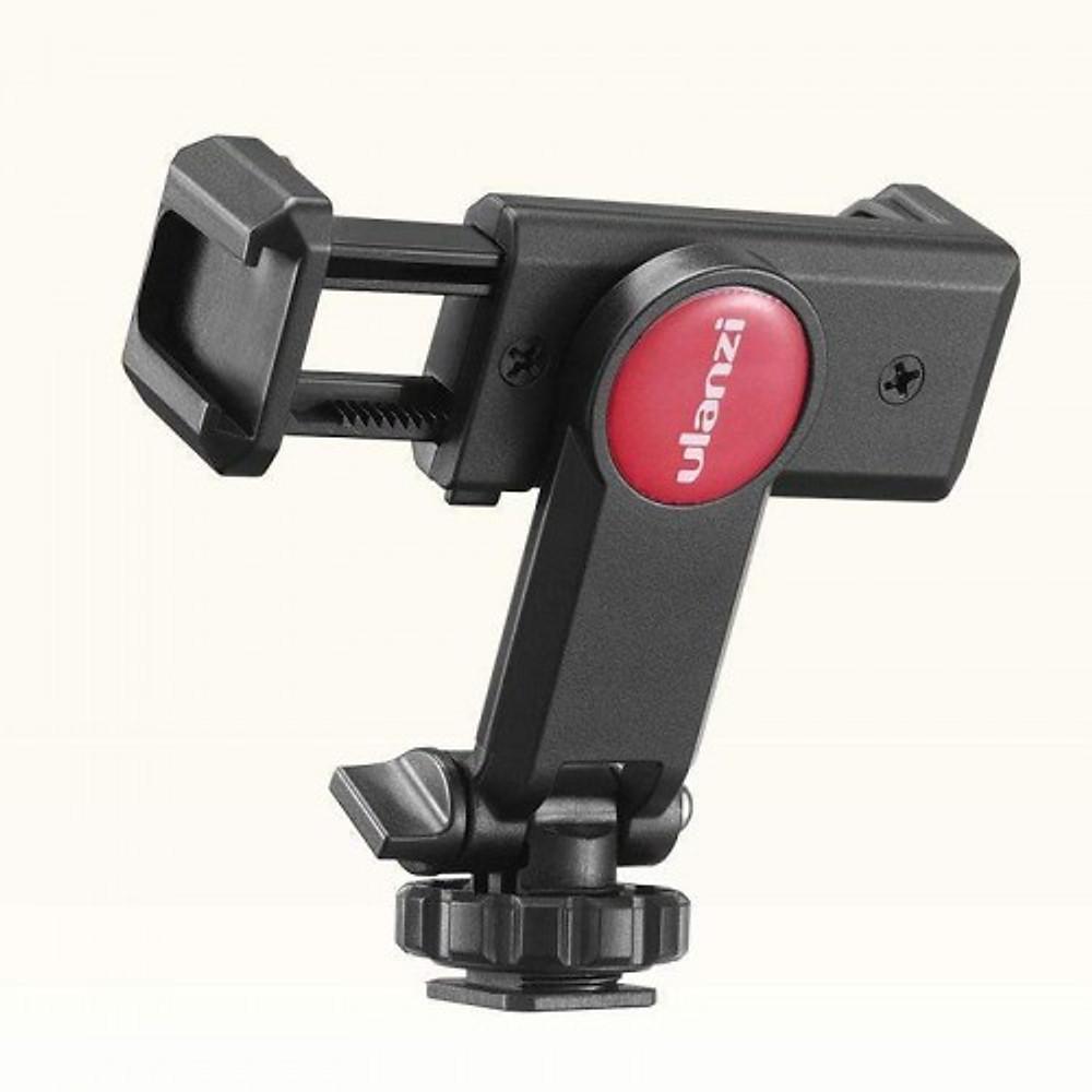 Gá kẹp điện thoại Ulanzi ST-06 gắn lên tripod, thanh trượt quay video, ring light hàng chính hãng