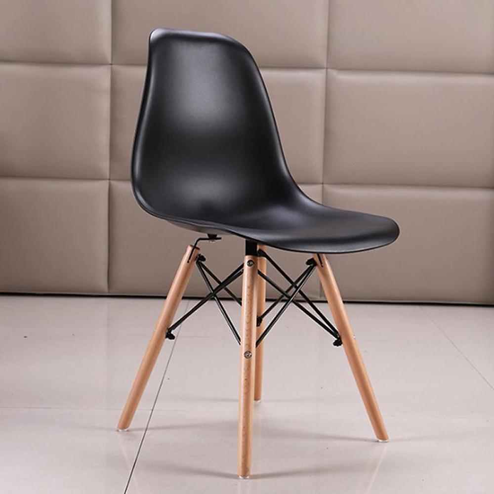 So Sánh Giá [Ghế Cafe][Ghế Văn Phòng] Ghế Eames Lưng Nhựa Chân đan Hàng Nhập Khẩu Cao Cấp