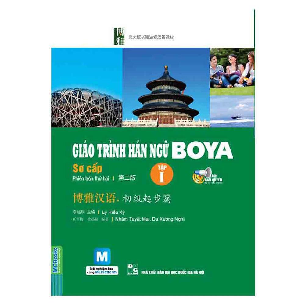 Review Giáo Trình Hán Ngữ Boya Sơ Cấp I ( Kèm CD - Hoặc dùng App)