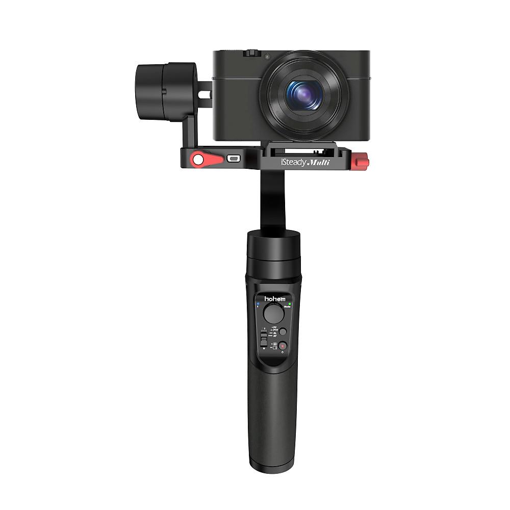 Review Gimbal Chống Rung 3 Trong 1 Dùng Cho Smartphone, Action Camera, Digital Camera, Nhận Diện Khuôn Mặt, Hoạt Động 8 Giờ Hohem ISteady Multi - Hàng chính hãng
