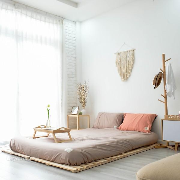 So Sánh Giá Giường Ngủ Pallet Gỗ Thông Minh Nội Thất Lắp Ráp Kiểu Hàn BEYOURs - Skinny Bed