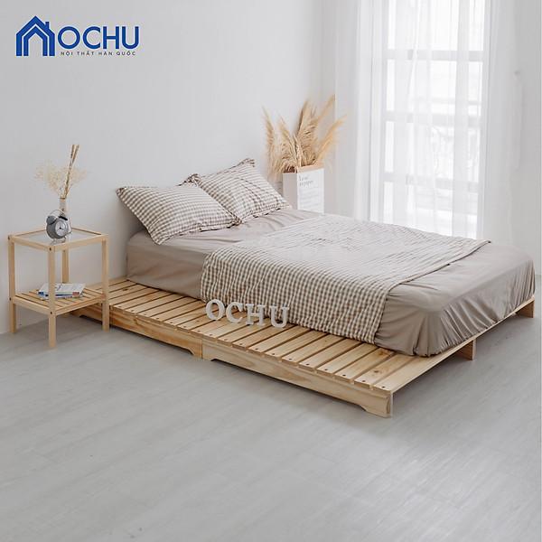 So Sánh Giá Giường Ngủ Pallet Gỗ Thông OCHU - Pallet Bed - Natural