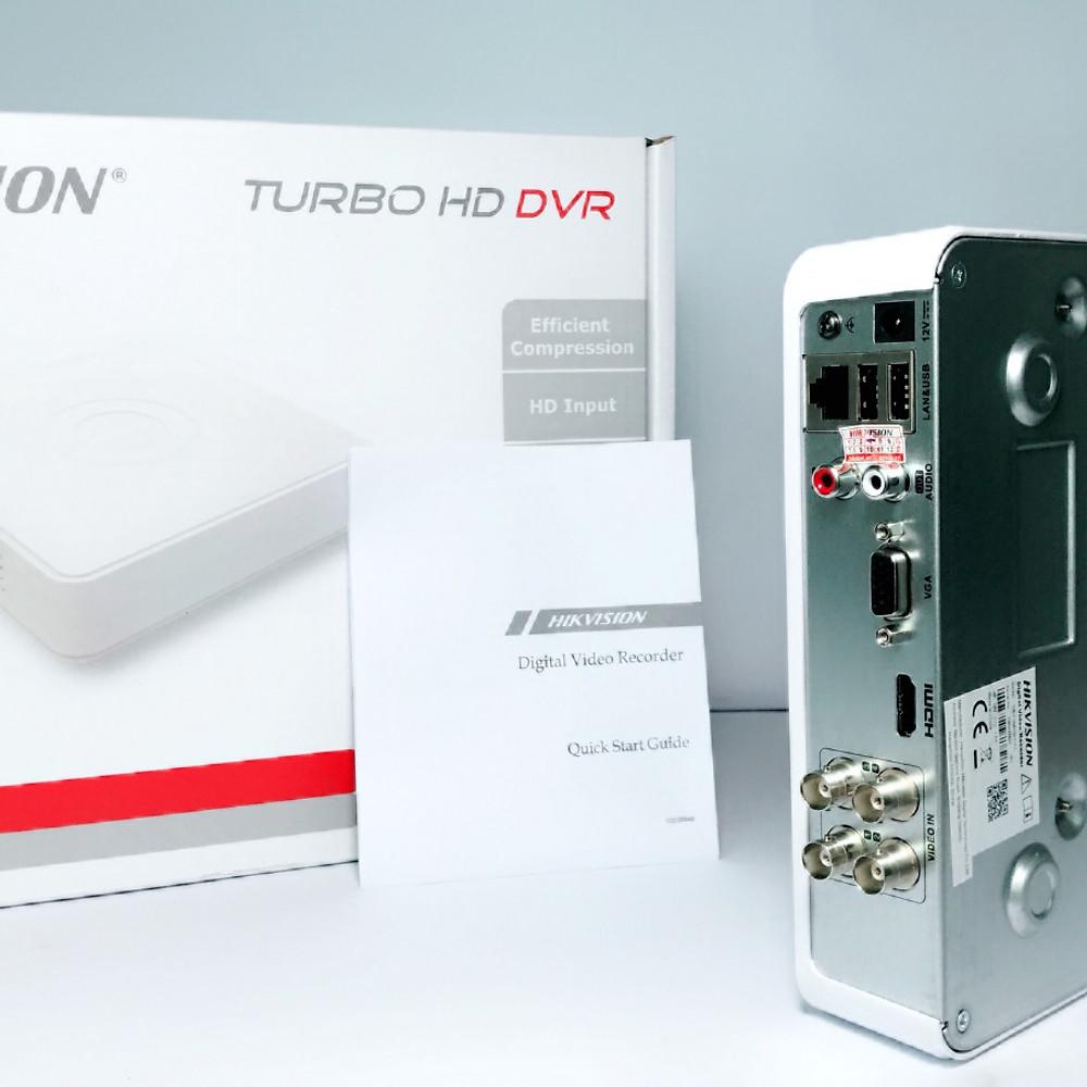 So Sánh Giá (Hàng Chính Hãng) - Đầu Ghi Camera 1080 HD-TVI 4 Kênh - HIKVISION
