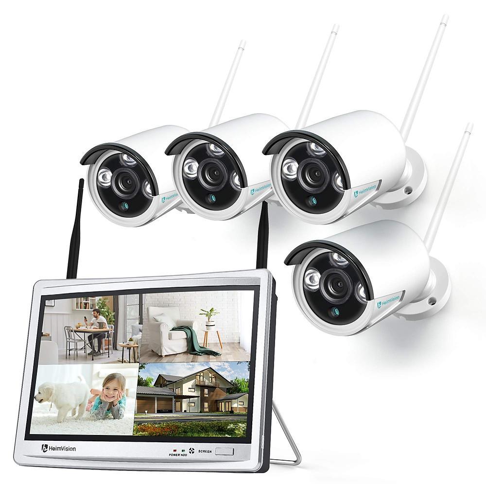 Review Hệ Thống Camera An Ninh HM243, 1080P Và Màn Hình LCD 12inch - Hàng Chính Hãng