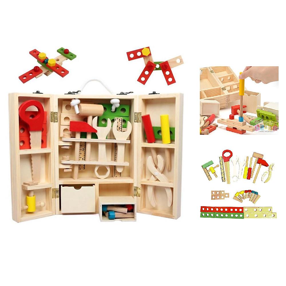 Đánh giá Hộp dụng cụ đồ chơi sửa chữa cho bé