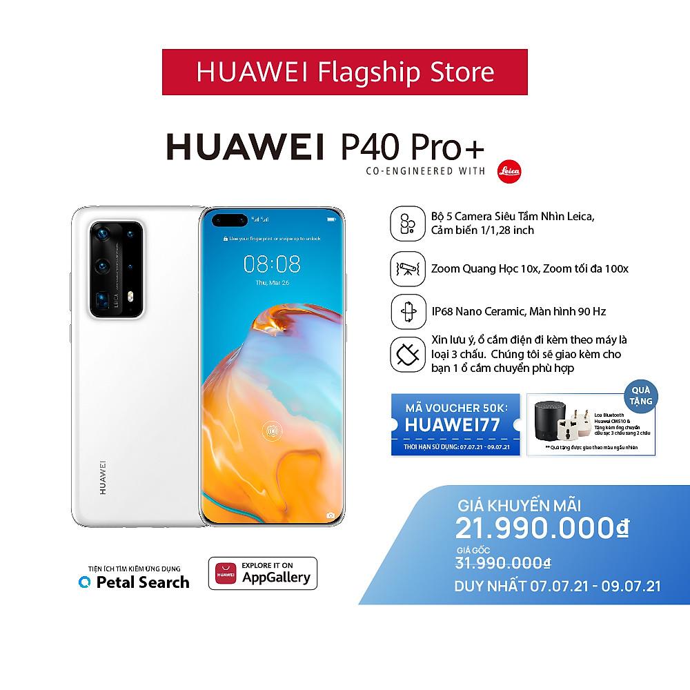 Review HUAWEI P40 Pro Plus 5G (8+512G)  Bộ 5 Camera Siêu Tầm Nhìn Leica   Cảm biến 1