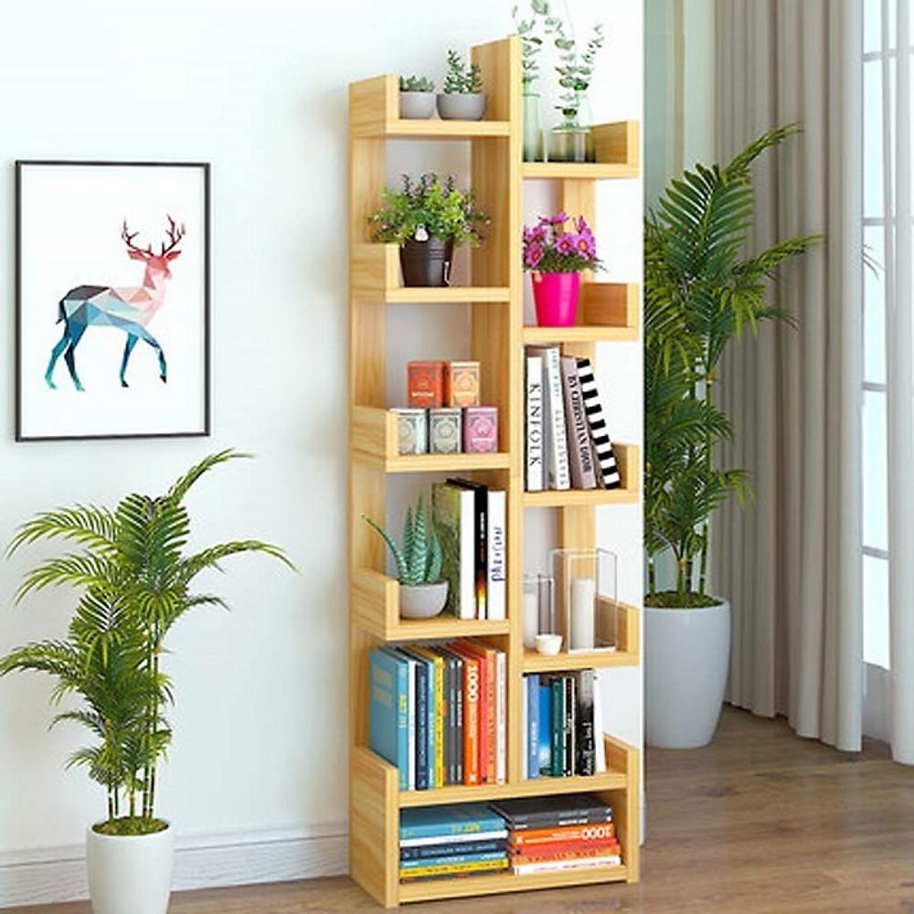 Review Kệ tủ giá sách bằng gỗ hình cây, dùng để đựng sách vở và trang trí phòng