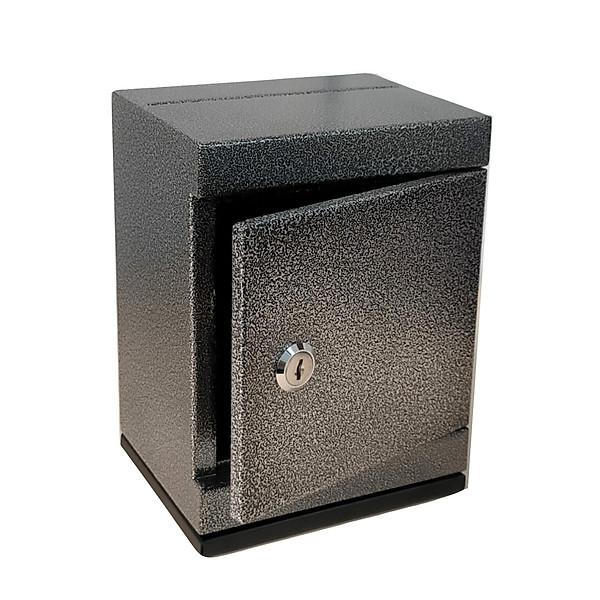 So Sánh Giá Két Sắt Mini Khóa Chìa đen Tiết Kiệm Mini Safe Box Black Piggy Bank