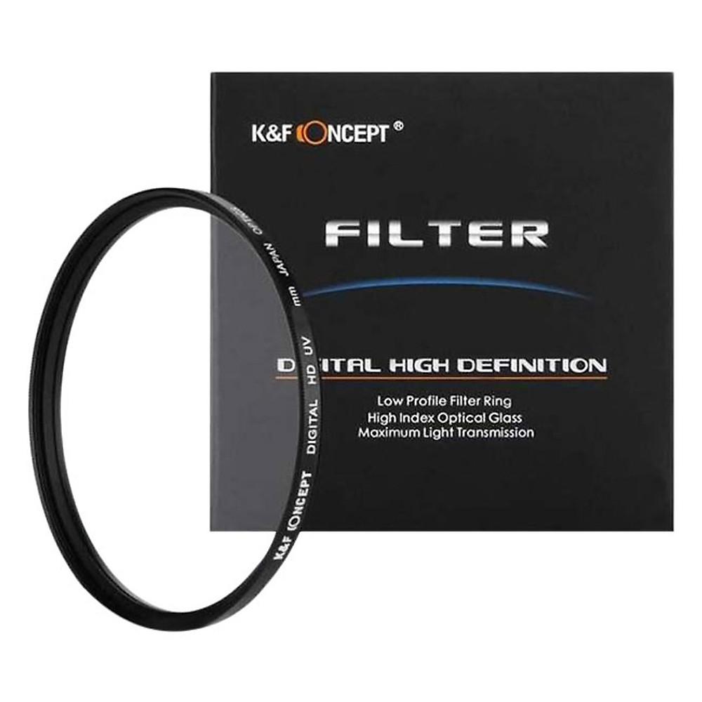 So Sánh Giá Kính Lọc K&F Concept Filter UV Digital HD - Japan Optic - Size 82mm - Hàng Nhập Khẩu
