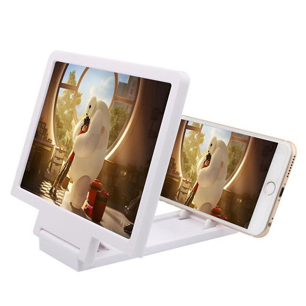 Đánh giá Kính phóng đại màn hình 3D cho điện thoại - Trắng