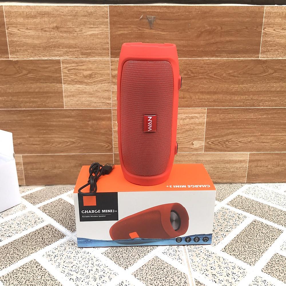 Đánh giá Loa Bluetooth WAN Charge mini 3+ A3 (Màu đỏ), nghe nhạc hay pin trâu - Hàng chính hãng