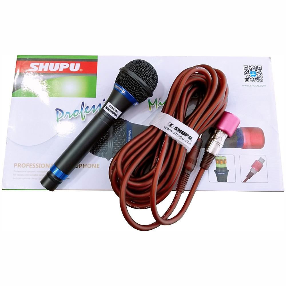 Review Micro Shupu 757 Có Dây Karaoke - Hàng Nhập Khẩu