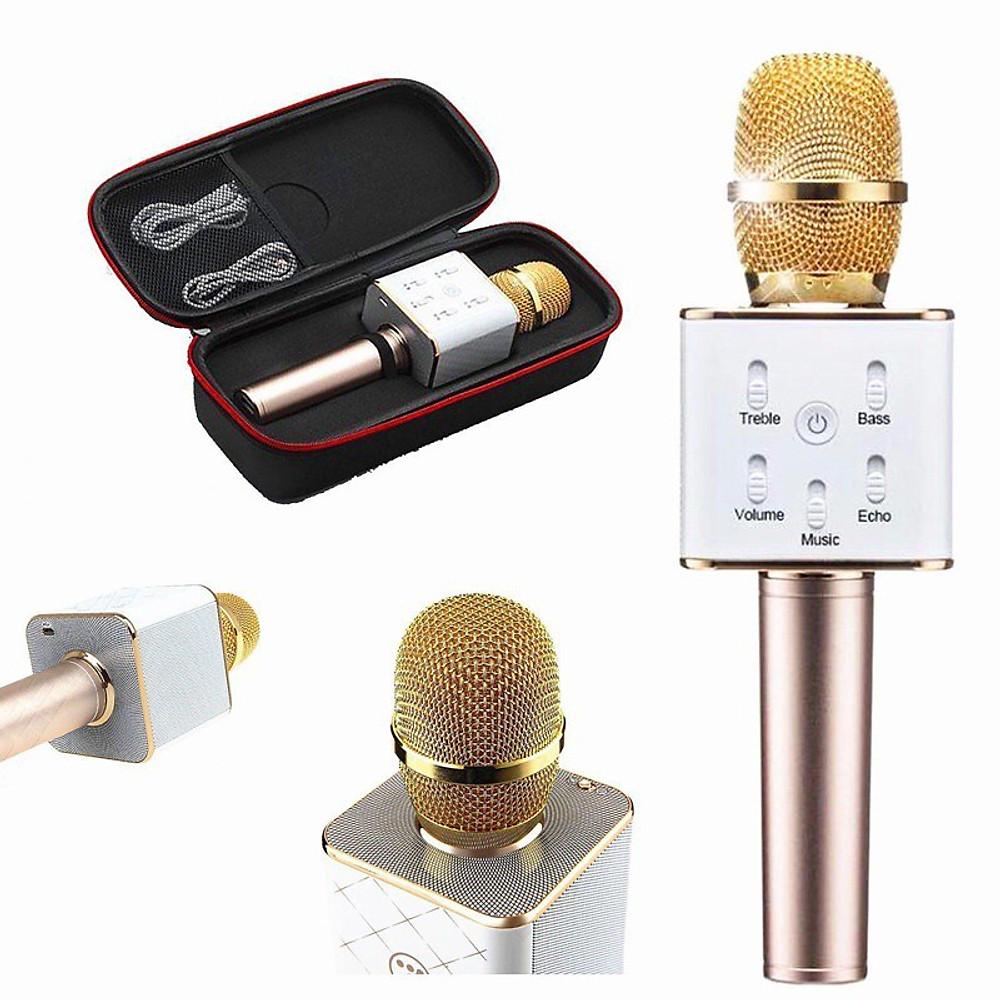 Review Micro thông minh Q7 có Bluetooth karaoke tích hợp loa 3 trong 1