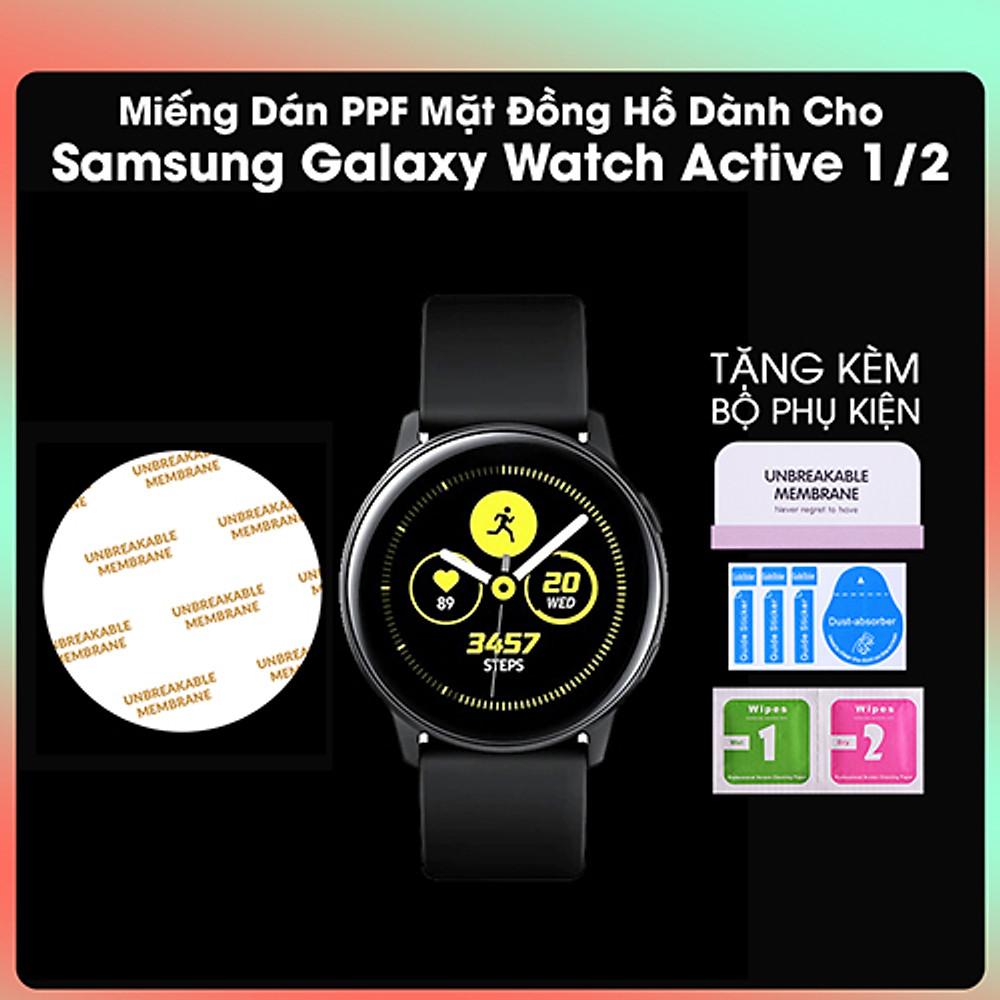Đánh giá Miếng Dán PPF Màn Hình Dành Cho Samsung Galaxy Watch Active 1