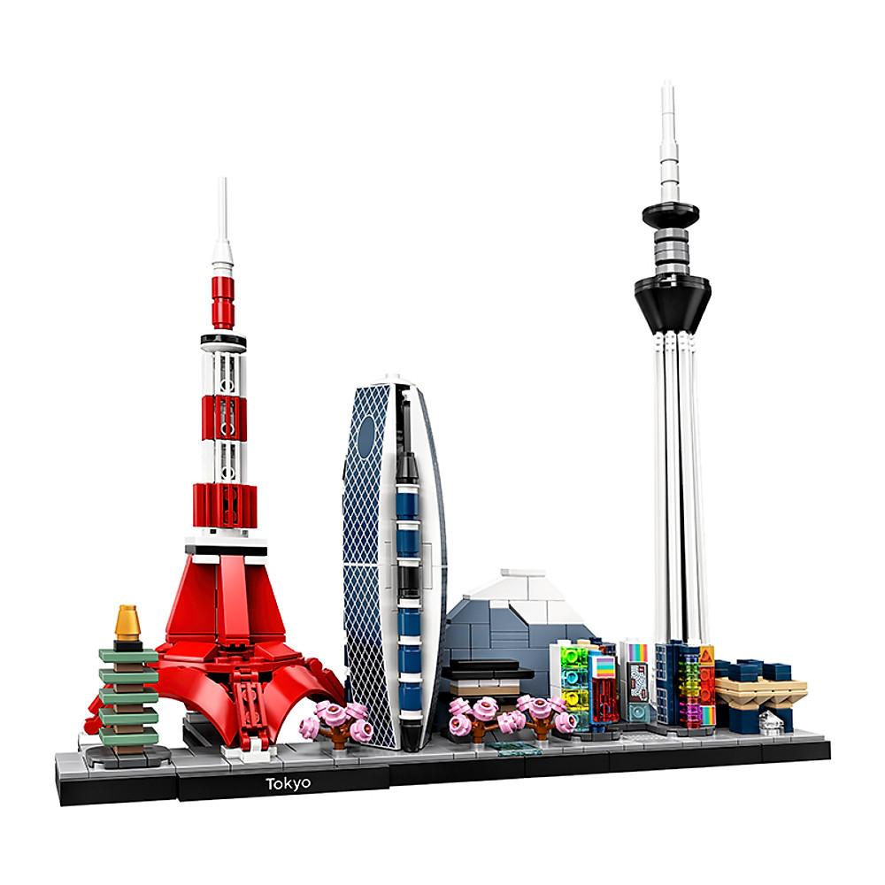 Mô hình đồ chơi lắp ráp LEGO ARCHITECTURE Thành Phố Tokyo 21051 ( 547 Chi tiết )
