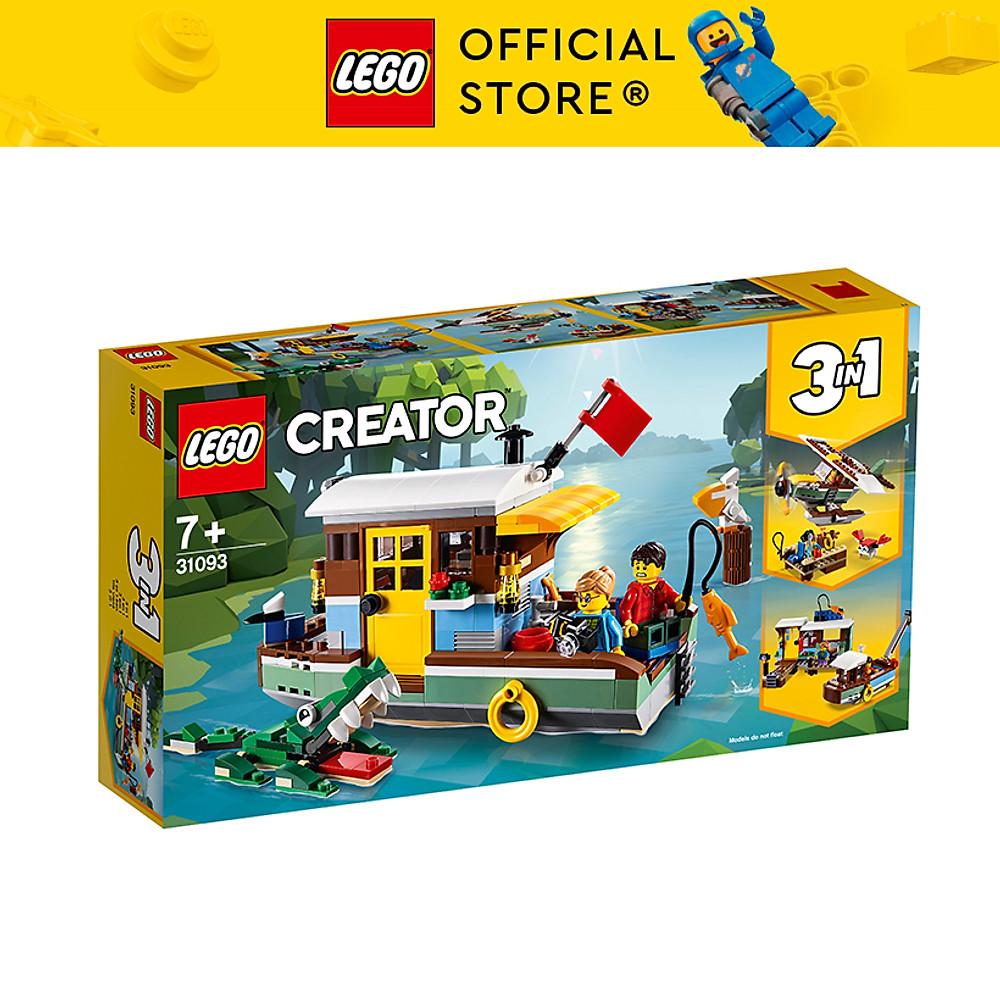 Review Mô hình LEGO CREATOR - Nhà Thuyền Trên Sông 31093