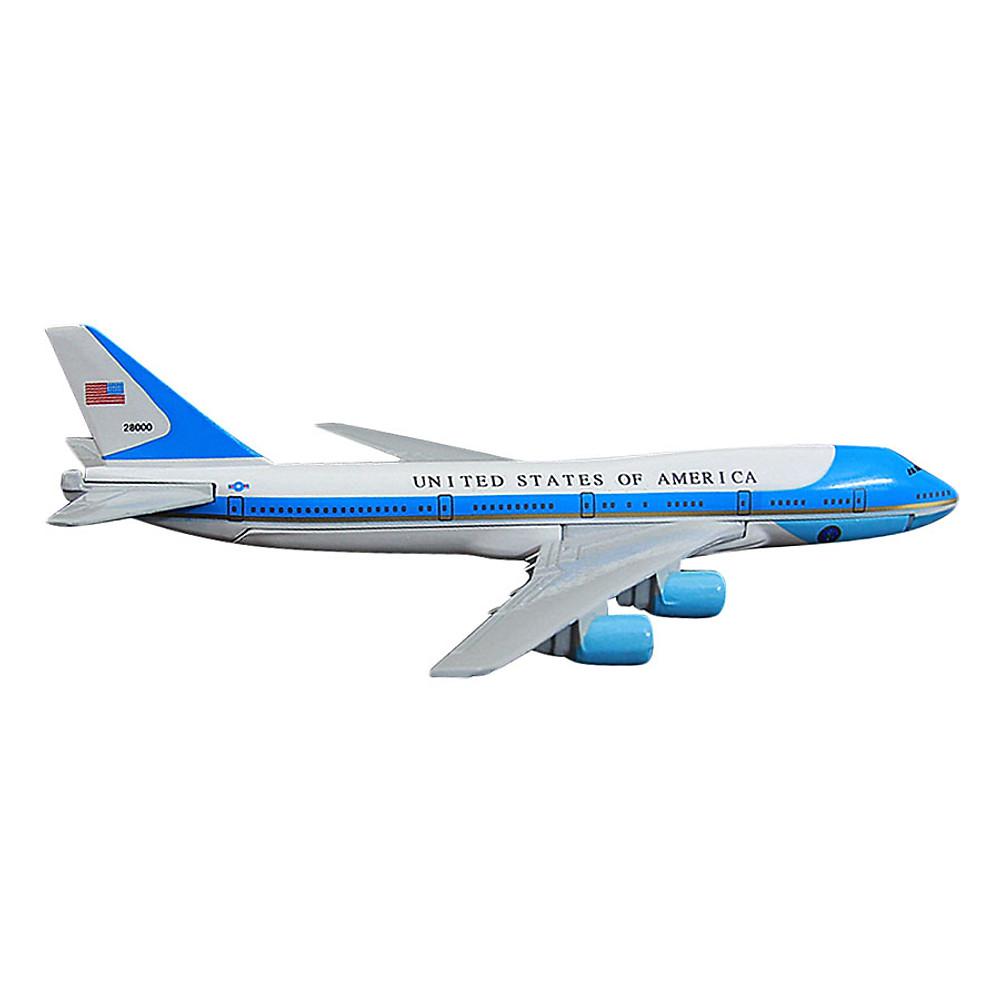 Đánh giá Mô Hình Máy Bay Trưng Bày Boeing 747 Air Force One Everfly (Trắng Xanh Nhạt)