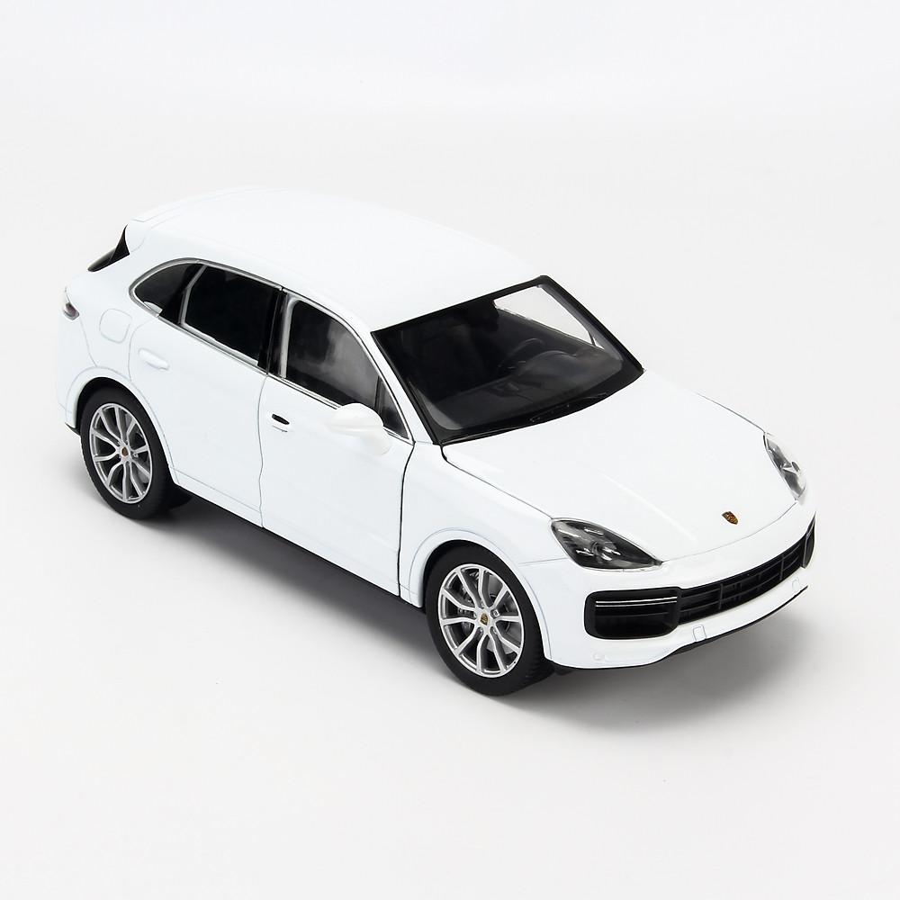 Đánh giá Mô hình xe Porsche Cayenne Turbo 1:24 Welly - 24092W