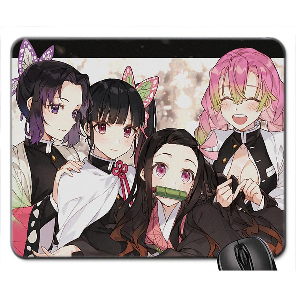 Đánh giá Mouse pad , miếng Lót chuột máy tính, đồ di chuột máy tính hình Anime Kimetsu no Yaiba - Demon Slayer - Lưỡi gươm Diệt Quỷ