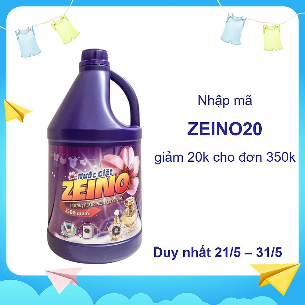 Nước giặt ZEINO tím 3